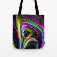 magneto Tote Bags featuring magneto-dynamic by David  Gough