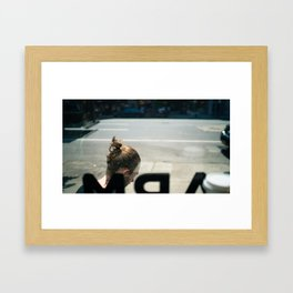Saturday Morning Framed Art Print