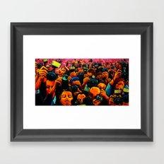 Paparazzi 2 Framed Art Print