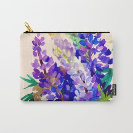 Lupine flowers Carry-All Pouch