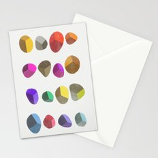 Painted Pebbles 2 Stationery Cards
