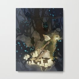 The Light of Xyon Metal Print