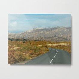 Þingvellir in Autumn Metal Print
