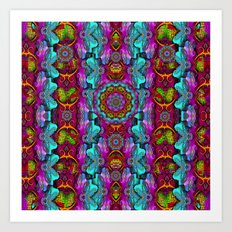 Sun it was in modern and ancient times Art Print
