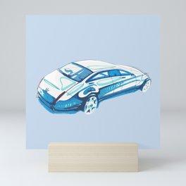 Limousine sketch Mini Art Print