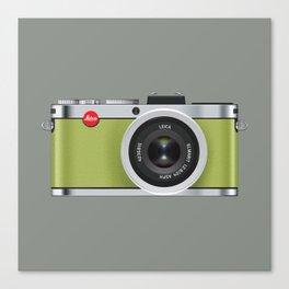 Leica X1 Camera Canvas Print