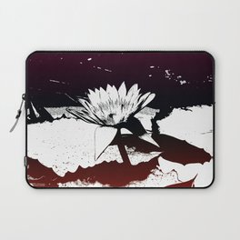 Stylized Water lily Laptop Sleeve