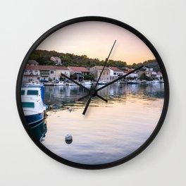 Vela Luka Wall Clock