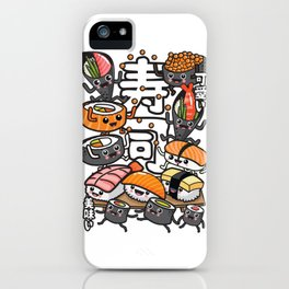 Sushi Kawaii iPhone Case