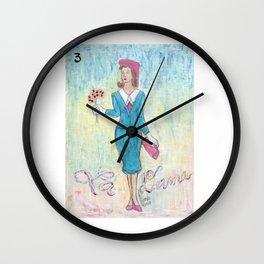 La Dama Riendo Wall Clock