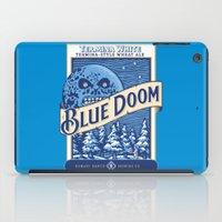 doom iPad Cases featuring Blue Doom by Moysche Designs