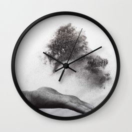 Hand of time Wall Clock