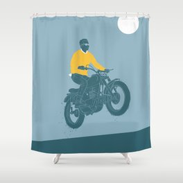 no guts no glory 2 Shower Curtain