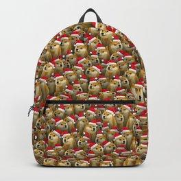Christmas doge Backpack