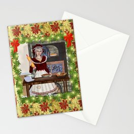 Mrs Claus Stationery Cards