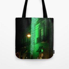 Green Cascade Tote Bag