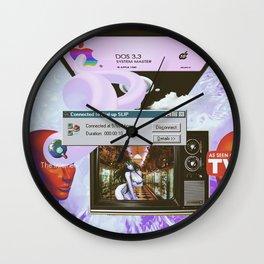CHROME FΔILURE Wall Clock