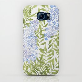 Leafy Lilac  iPhone Case