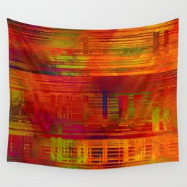 SchematicPrismatic 09 Wall Tapestry