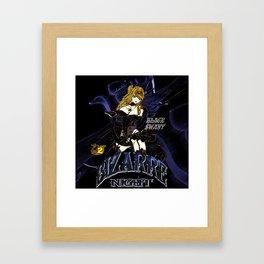 BLACK SWAN BURLESQUE NIGHT Framed Art Print