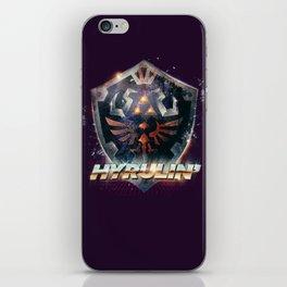 Yeah she sees my Hyrulin' - 80's Legend of Zelda Shield iPhone Skin