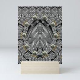 Metal power on Mother Earth Pop Art Mini Art Print