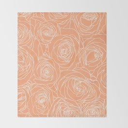 Cantaloupe Throw Blankets For Any Room Or Decor Style Society6 Cantaloupe is the perfect healthy summertime treat. cantaloupe throw blankets for any room