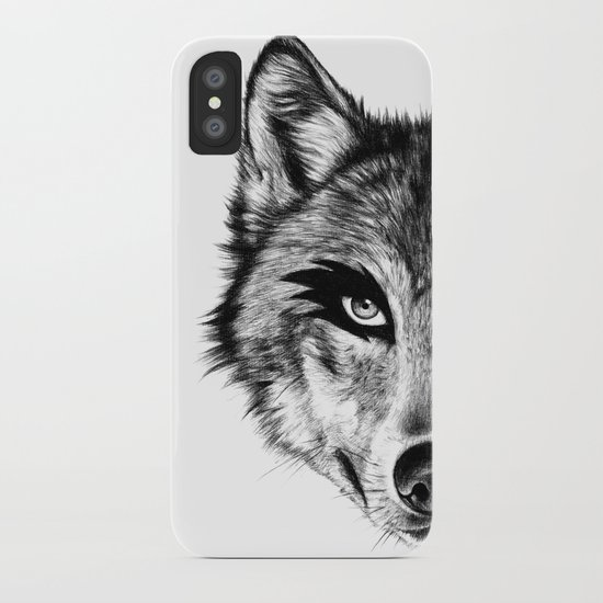 The Wolf Next Door iPhone Case