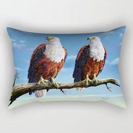 Friends Hanging out Rectangular Pillow