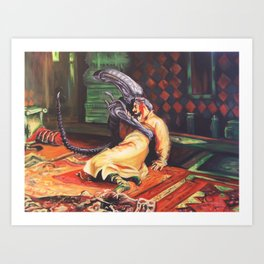 Alien the Terrible Art Print