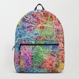Dublin Ireland City Map Backpack