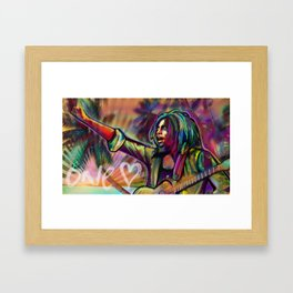 One Love Framed Art Print