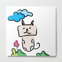 Kittie Cat Metal Print