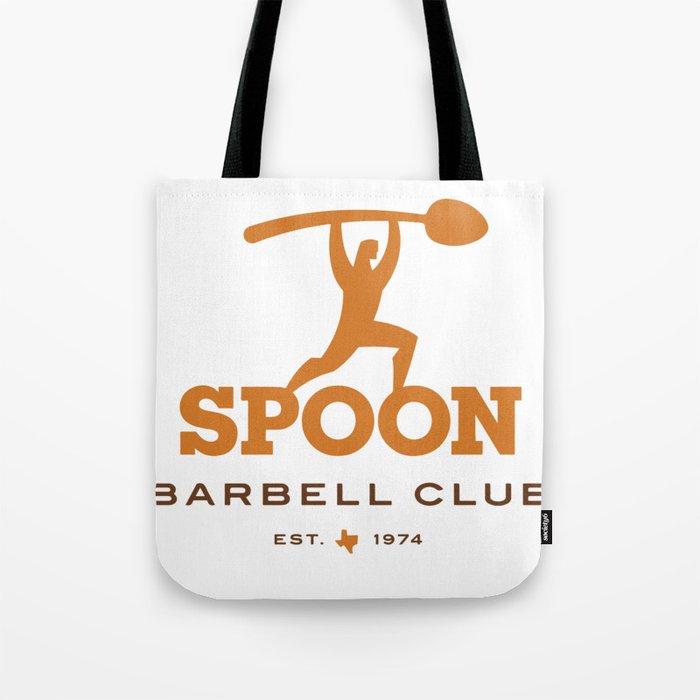 Spoon Barbell Club Tote Bag