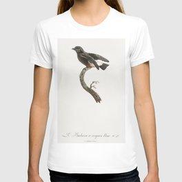Swallow-winged puffbird from Histoire Naturelle des Oiseaux de Paradis et Des Rolliers (1806) by Jac T-shirt