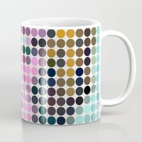 monroe Mugs featuring Monroe by ONEDAY+GRAPHIC