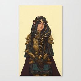 Fingon the Valiant Canvas Print