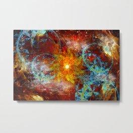 Sun and Moons Metal Print