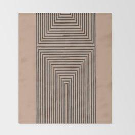 Geometric Art Throw Blanket