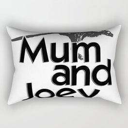 Mum and Joey Rectangular Pillow