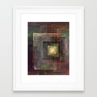 frames Framed Art Prints featuring Frames by TilenHrovatic