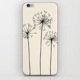 Dandelions iPhone Skin