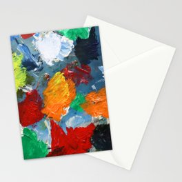 The Artist's Palette Stationery Cards