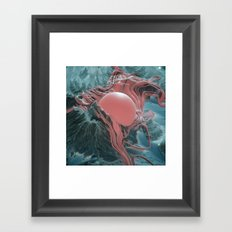 HONEYSUCKLE (everyday 01.10.17) Framed Art Print
