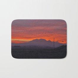 Sunset at Mt. Diablo Bath Mat