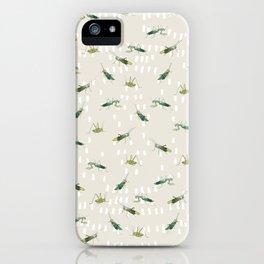 Mantis & Locusta iPhone Case