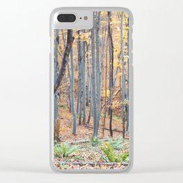 Dreamy forest No4 Clear iPhone Case