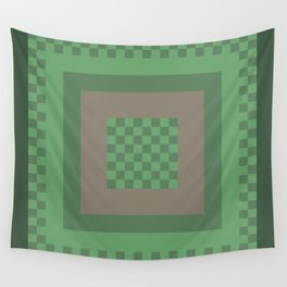 Green All Over Wall Tapestry