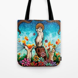 Prairie Dog Church Tote Bag