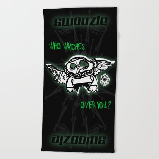 Swoozle Guardian Angel Beach Towel